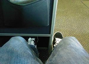 Seat 1C - United A319