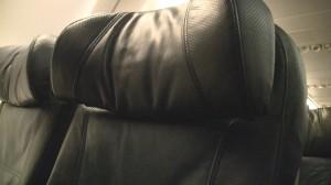 Alaska Economy Class Headrest