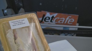 JetStar Asia Cafe Sandwich