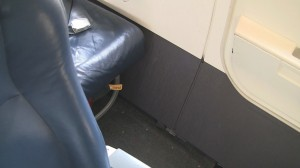 US Airways A319 - Exit Seat 10A Legroom