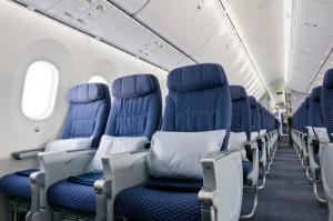 United Dreamliner in Economy