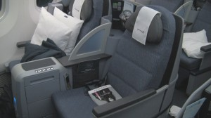 Business First Seat on United 787