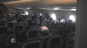 United 787 Economy Cabin