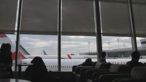 View from Lufthansa JFK Senator Lounge