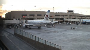 America West livery at PHX