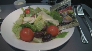 United 767-400 Business Elite Salad