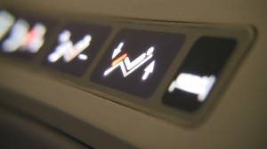 Business First Seat Controls