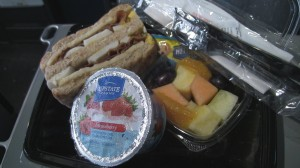 US Airways Economy Meal
