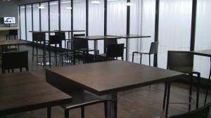 Cafe Seating - ZUR Arrivals Lounge