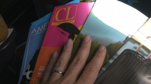 In-flight magazines
