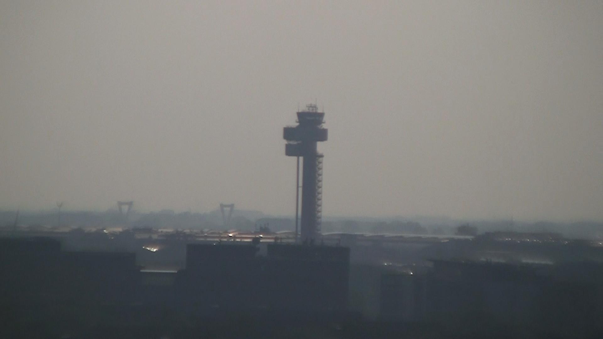 Tower at Dusseldorf Airport