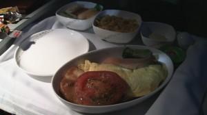 Air China Breakfast