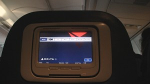 Delta 757 with Personal TV