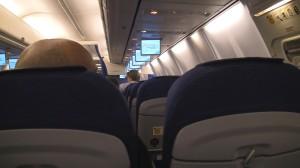 Overhead TV's -KLM 738