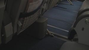 Lufthansa A340-300 Seat 25F
