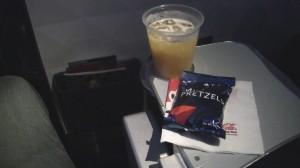 Delta Pretzels aboard 737-900