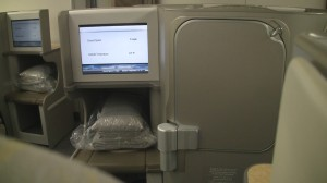 Staggered Seating in Asiana Business Smartium Class