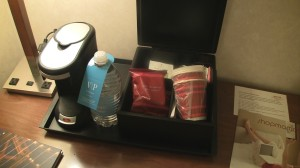 In-room Coffee at Marriott SFO