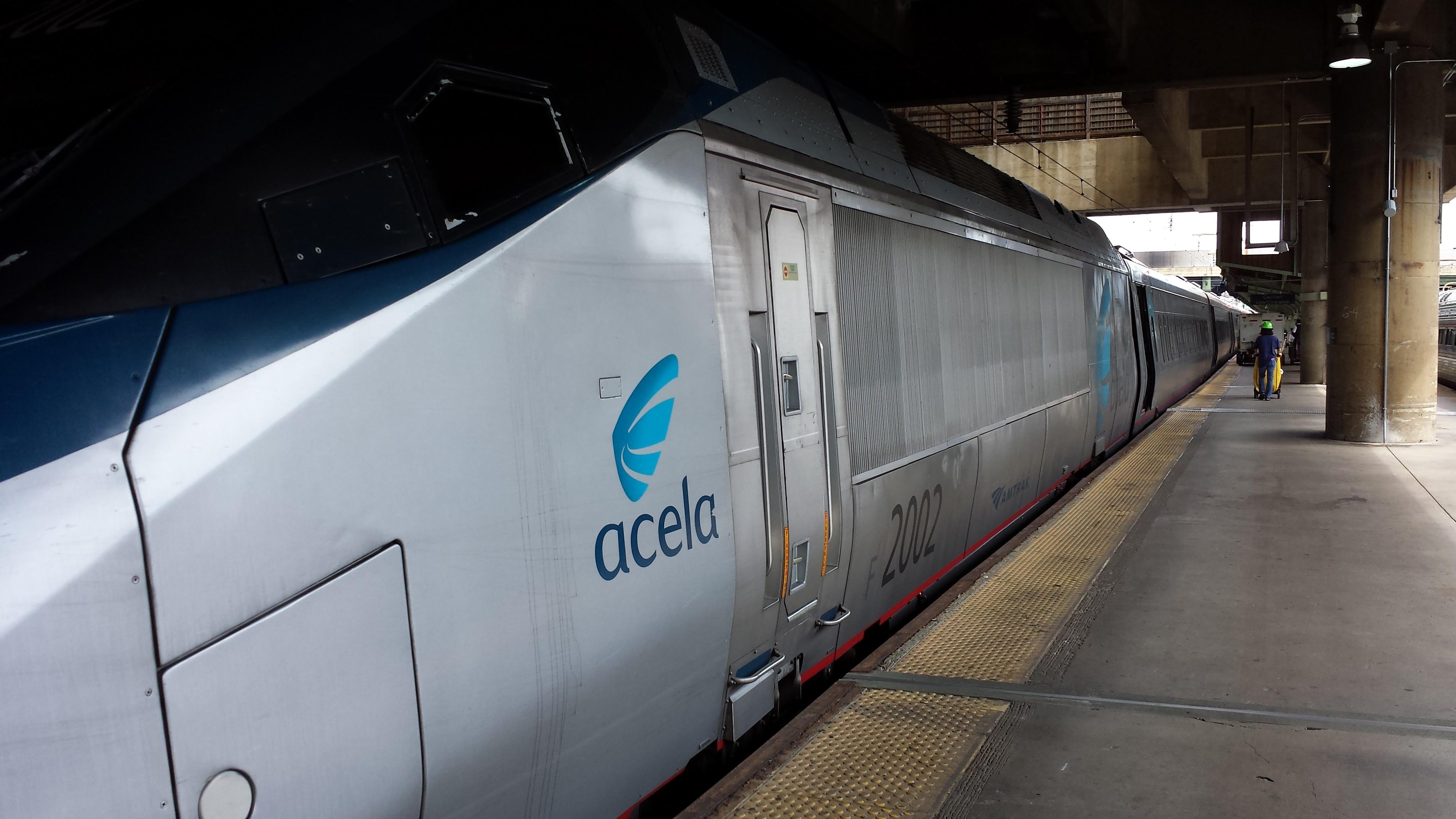 Acela Train.