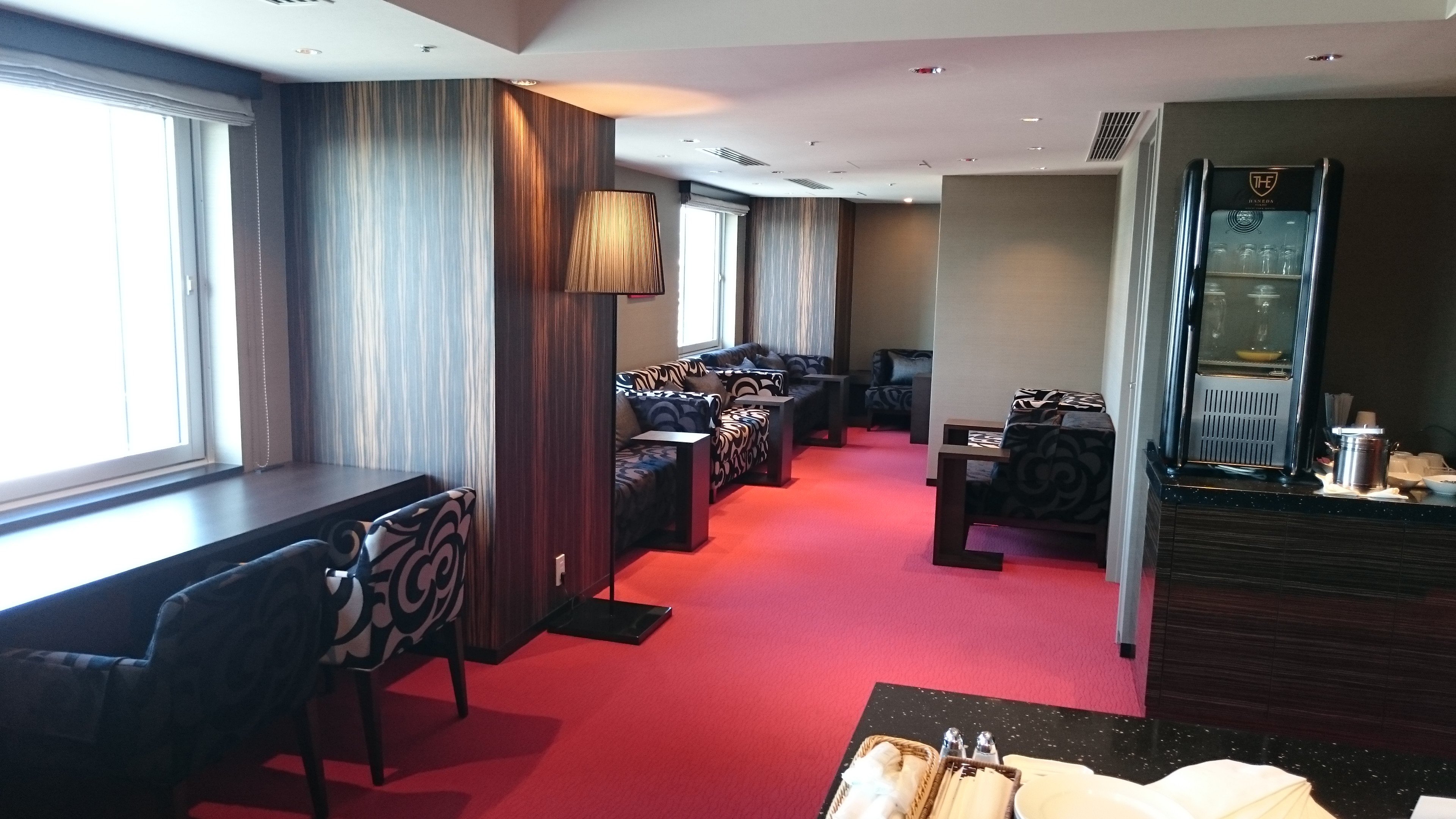 THE Haneda airside lounge