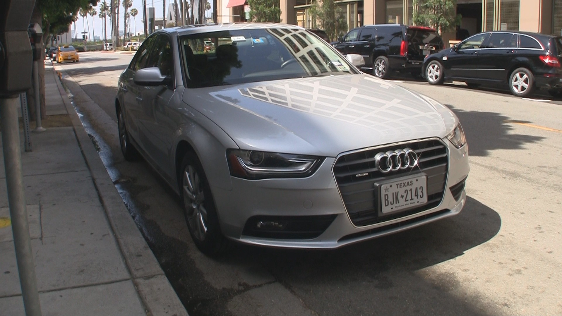 Silvercar Audi A4 at LAX