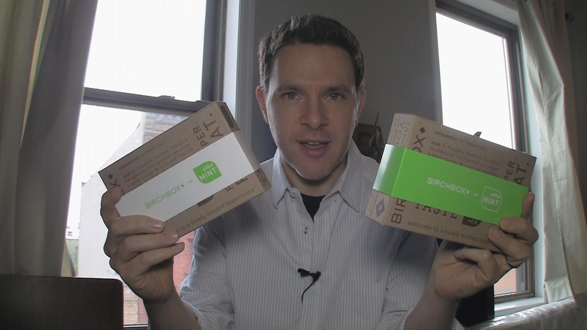 Birchbox Amenity Kits for JetBlue