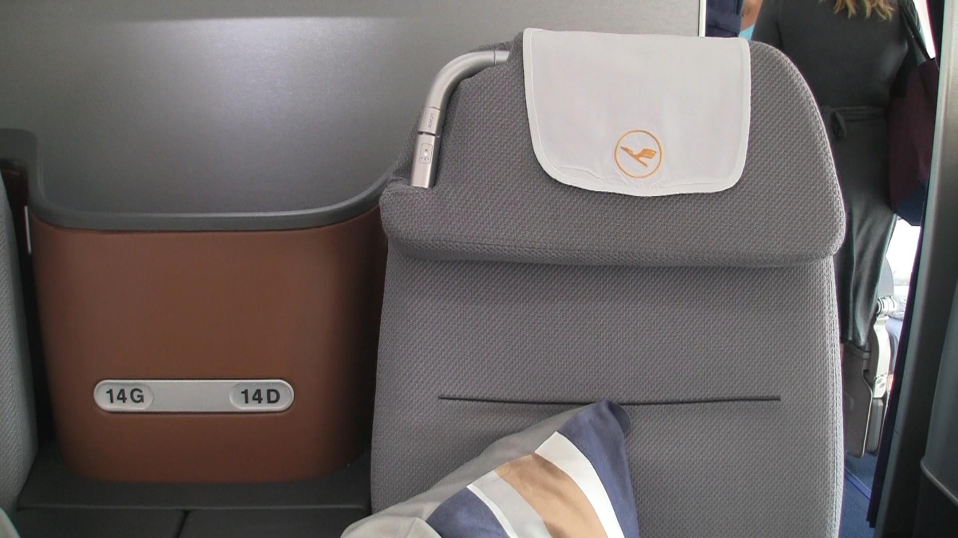 Lufthansa New Business Class