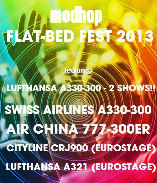 Flat-Bed Fest Poster