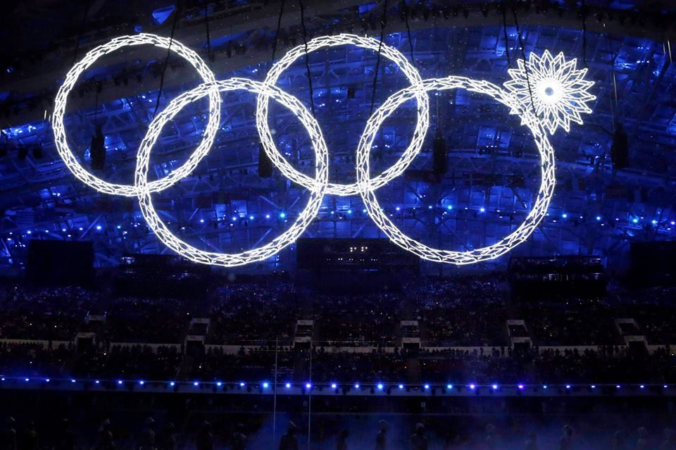 Olympic Rings Fail in Sochi